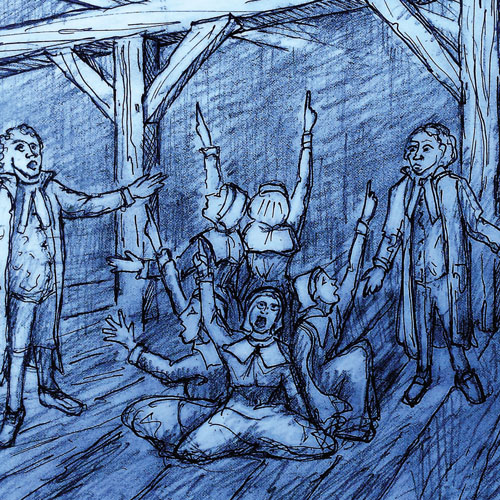 Illustration from The Crucible