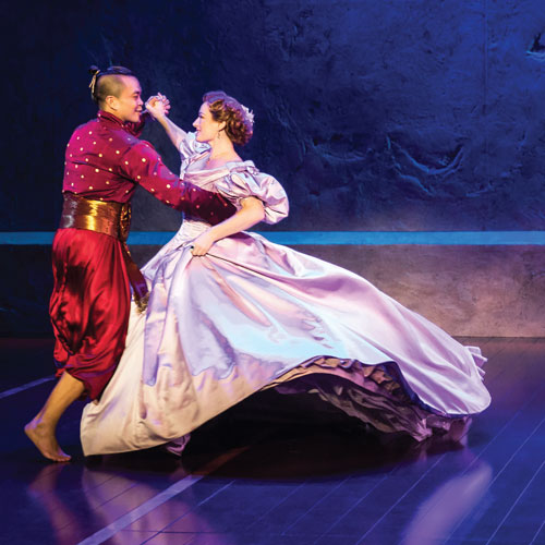 The King and I performers dancing
