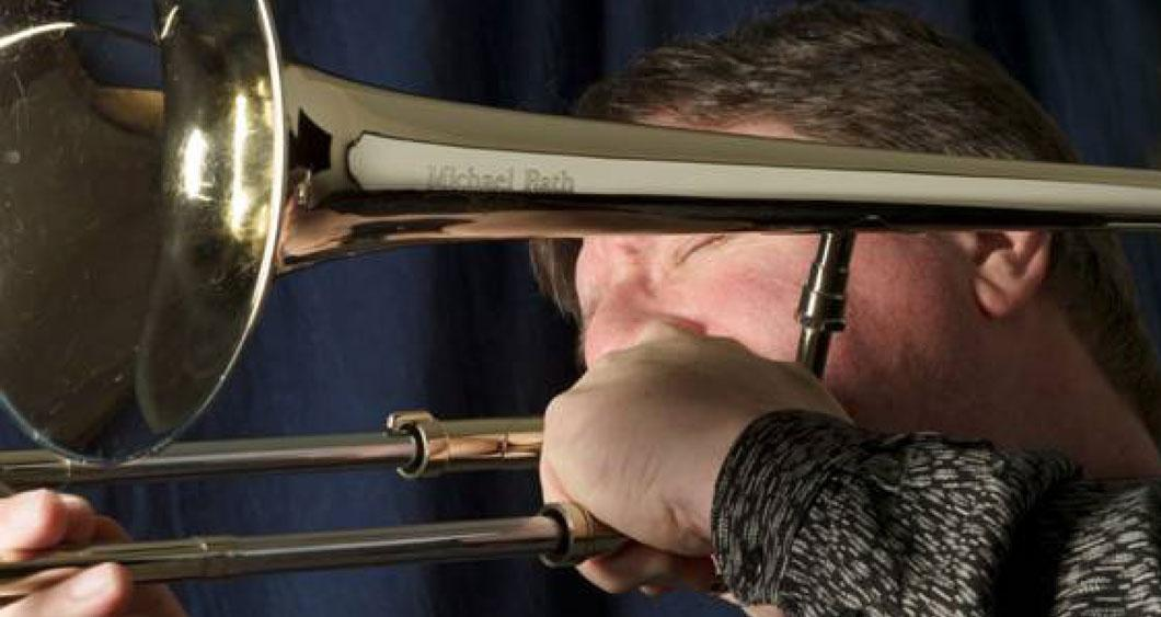 Conrad Herwig Playing Trombone