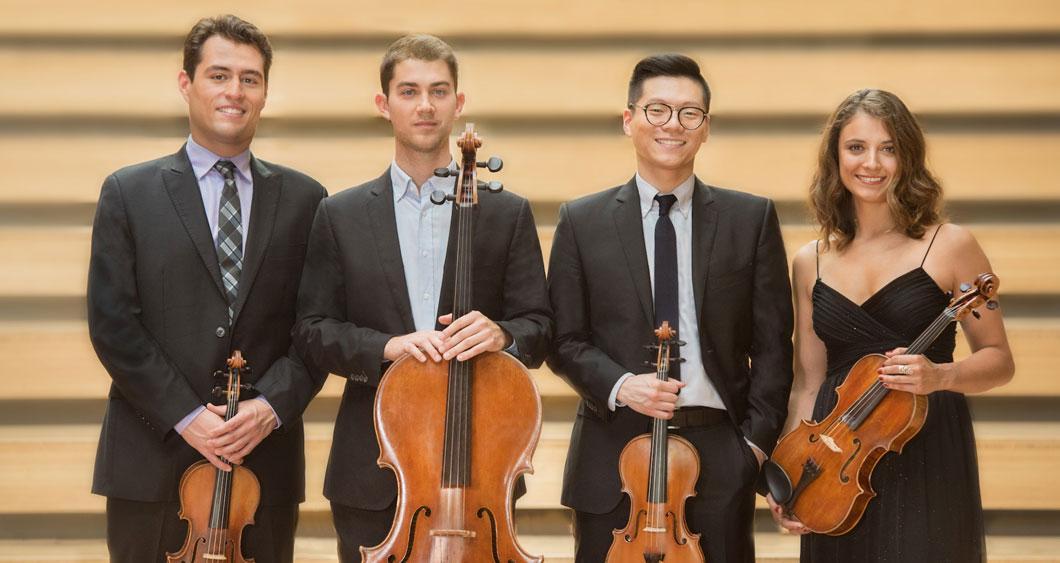 Dover Quartet group members