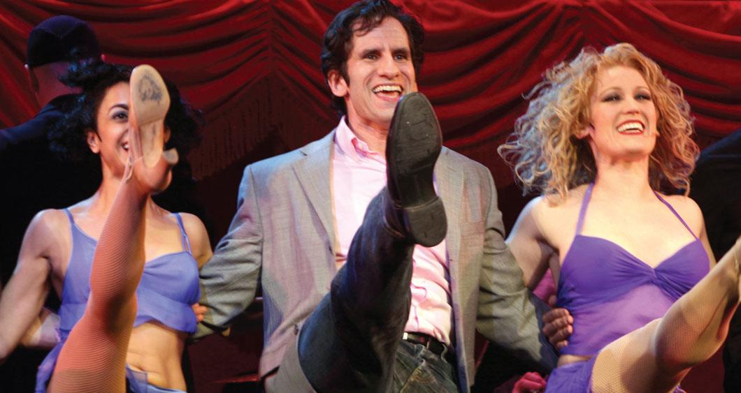 Seth Rudetsky dancing