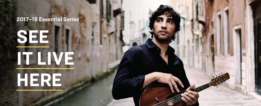 2017-18 Season Featured Artist Avi Avital with Mandolin