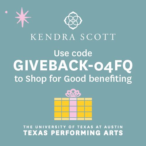 Shop for good benefiting TPA at KendraScott.com on December 1 & 2