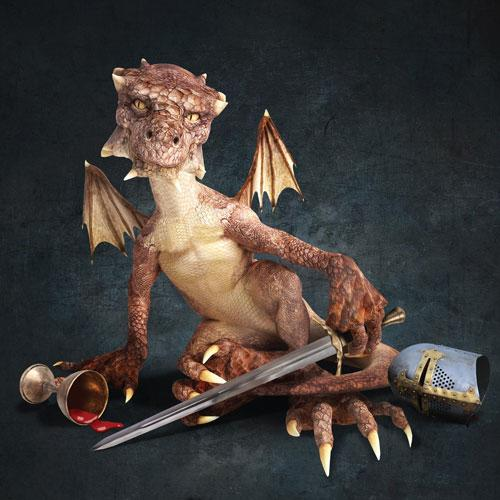 Musical Thrones dragon
