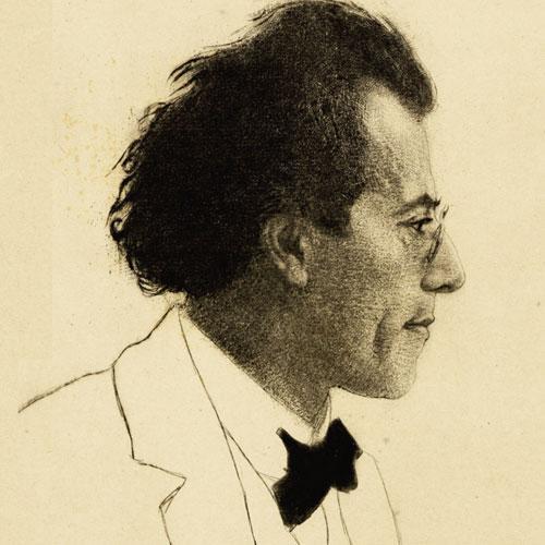 Gustav Mahler portrait