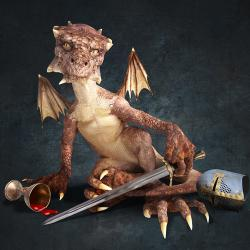 Musical Thrones dragon