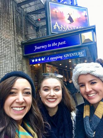 Adrienne, Susannah, and Maddie in NYC