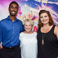 Vinay Thomas, Kathy Panoff, and Wendy Fernandez
